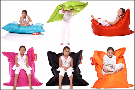 fatboy junior original sitzsack 1 30mx0 90m orange ebay. Black Bedroom Furniture Sets. Home Design Ideas