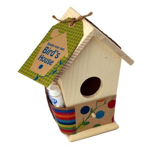 Kid o seedling birds house