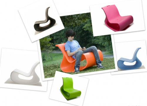 Mod lounger collage