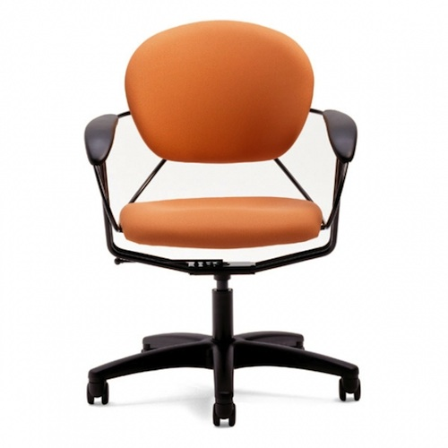 Orange uno chair