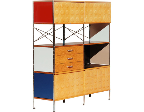 Eames storage unit large colors