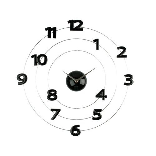 Mobile numbers clock